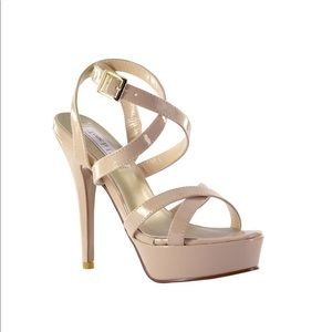 Andrea Touch Ups Nude Stiletto Heels